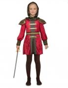 Déguisement de chevalier médiéval fille