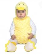 Déguisement petit canard peluche jaune