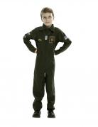 Déguisement pilote d'avion de chasse enfant