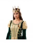 Couronne or vieilli médiéval femme