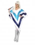 Poncho disco femme
