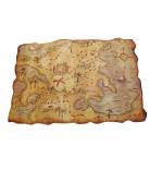 Carte en plastique pirate 29 x 45 cm