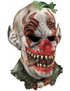 Masque luxe latex clown fonzo effrayant adulte