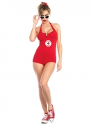 Déguisement combishort lifeguard sexy femme