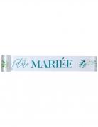 Écharpe en tissu future mariée 1,5 m