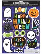 Stickers pour fenêtres Halloween Friends
