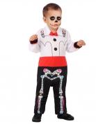 Vous aimerez aussi : Déguisement squelette Dia de los muertos bébé