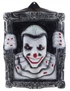 Cadre lumineux clown effrayant 40 x 50 cm