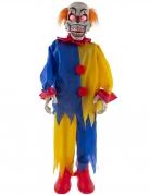 Décoration animée, sonore et lumineuse clown 90 cm