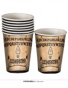 8 Gobelets en carton Ouija 10 cm