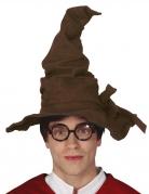 Chapeau sorcier marron adulte