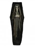 Décoration lumineuse cercueil 160 cm