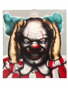 Décoration lumineuse clown intrusif 28 x 31 cm