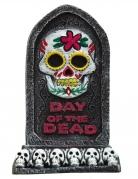 Décoration pierre tombale Dia de los muertos 13 x 8 cm