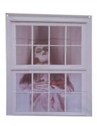 Décoration pour fenêtre poupée 75 x 90 cm