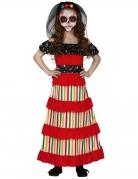 Déguisement mexicaine Dia de los muertos fille