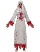 Déguisement nonne ensanglantée femme