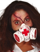 Masque à gaz sanglant adulte