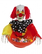 Saladier lumineux et sonore avec clown