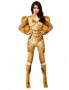 Déguisement ange gardien doré femme