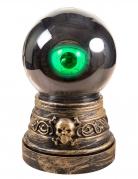 Boule de cristal œil animée 20 cm