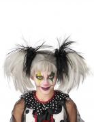 Vous aimerez aussi : Perruque couettes noire et blanc phosphorescente enfant