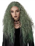 Perruque longue ondulée femme