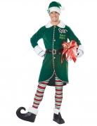 Déguisement elfe du père Noel homme
