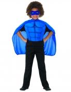Kit super héros bleu enfant