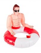 Bouée maitre nageur gonflable 88 cm