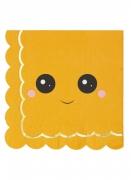 Vous aimerez aussi : 16 Serviettes en papier citrouille sweety 33 x 33 cm