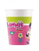 8 Gobelets en carton Minnie Happy™ 200 ml