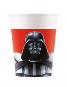 8 Gobelets en carton Star Wars Final Battle™ 200 ml