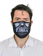 Masque cache nez imprimé seigneur obscur adulte