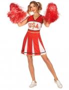 Vous aimerez aussi : Déguisement pompom girl USA rouge femme