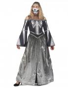Déguisement princesse squelette femme