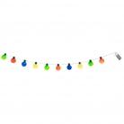 Guirlande lumineuse multicolore 140 cm