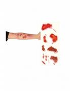 Plaque de tatouages blessures à vif
