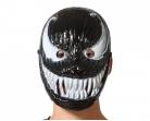 Masque symbiote noir et blanc adulte