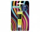 Tube de maquillage néon jaune UV