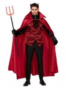 Déguisement comte diabolique rouge homme