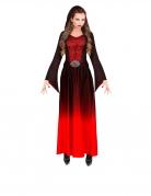 Déguisement dame vampire gothique rouge femme