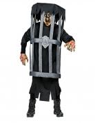 Déguisement zombie en cage adulte