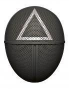Masque en carton gardien de jeu triangle